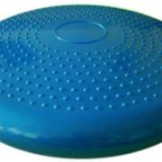 Air-Stability-Wobble-Cushion-Blue-35cm14in-Diameter-Balance-Disc-Pump-Included-0-0