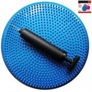 Air-Stability-Wobble-Cushion-Blue-35cm14in-Diameter-Balance-Disc-Pump-Included-0